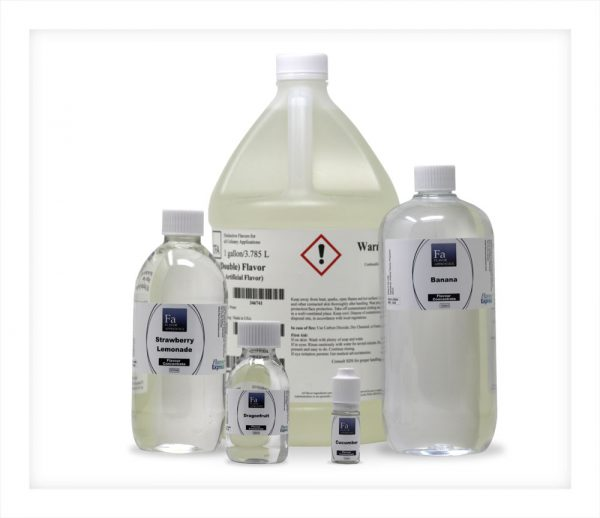 TFA TPA Gallon Litre 500ml 100ml 10ml bottles