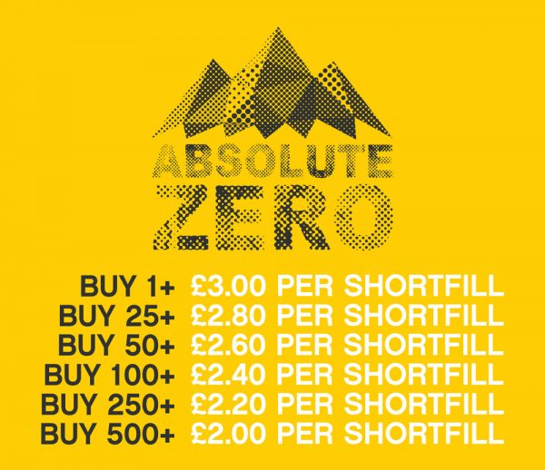 Absolute-Zero_Shortfill-Price-List