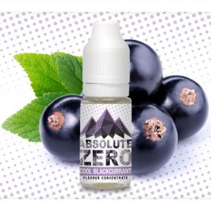 Absolute Zero Cool Blackcurrant Flavour Concentrate 10ml bottle