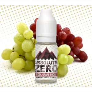 Absolute Zero Cool Grape Soda Flavour Concentrate 10ml bottle