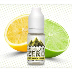 Absolute Zero Cool Lemon and Lime Flavour Concentrate 10ml bottle