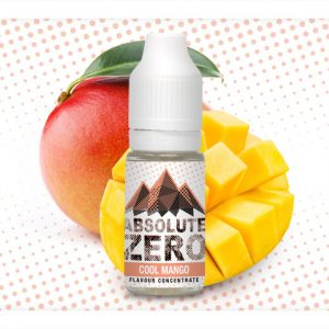 Absolute Zero Cool Mango Flavour Concentrate 10ml bottle