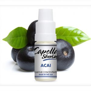 Capella Silverline Acai Flavour Concentrate 10ml bottle