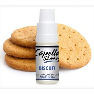 Capella Silverline Biscuit Flavour Concentrate 10ml bottle