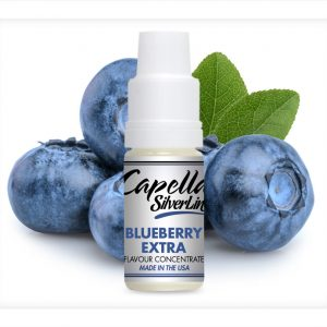 Capella Silverline Blueberry Extra Flavour Concentrate 10ml bottle