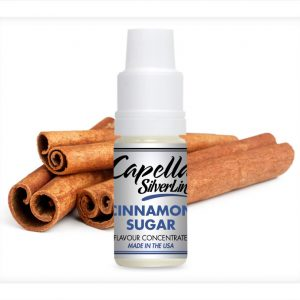 Capella Silverline Cinnamon Sugar Flavour Concentrate 10ml bottle