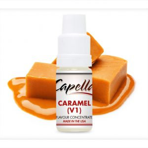 Capella Caramel v1 Flavour Concentrate 10ml bottle