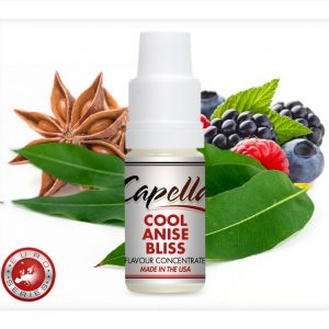 Capella Cool Anise Bliss Flavour Concentrate 10ml bottle