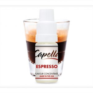 Capella Espresso Flavour Concentrate 10ml bottle