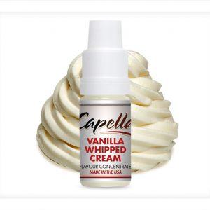 Capella Vanilla Whipped Cream Flavour Concentrate 10ml bottle
