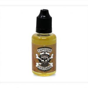 Captains Custard Cinnamon Danish 30 millilitre One Shot bottle