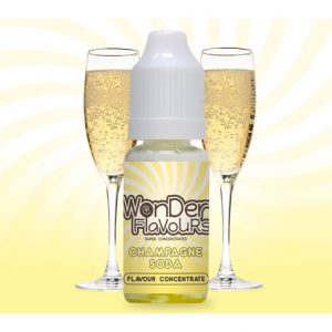 Wonder Flavours Champagne Soda Flavour Concentrate 10ml Bottle