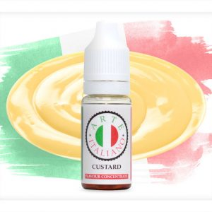 Arte Italiano Custard Flavour Concentrate 10ml bottle