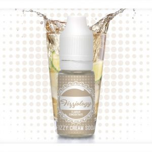 Fizziology Fizzy Cream Soda Flavour Concentrate 10ml Bottle