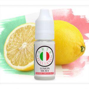 Arte Italiano Lemon Sicily Flavour Concentrate 10ml bottle