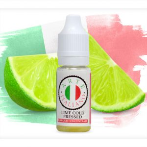 Arte Italiano Lime Cold Pressed Flavour Concentrate 10ml bottle