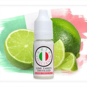 Arte Italiano Lime Tahity Distilled Flavour Concentrate 10ml bottle