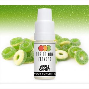 One on One OoO Apple Candy Flavour Concentrate 10ml bottle
