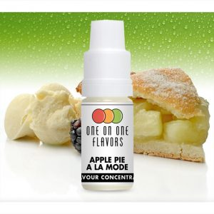 One on One OoO Apple Pie a la Mode Flavour Concentrate 10ml bottle