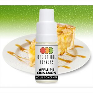 One on One OoO Apple Pie Cinnamon Flavour Concentrate 10ml bottle