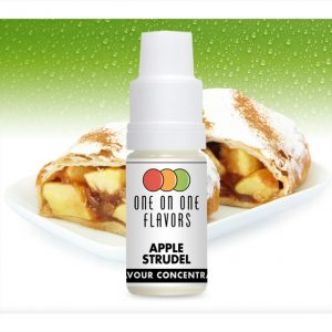 One on One OoO Apple Strudel Flavour Concentrate 10ml bottle