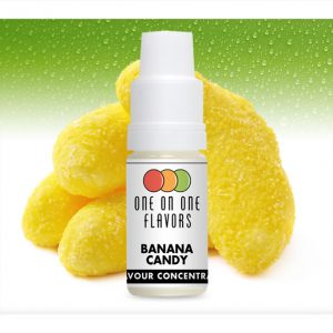 One on One OoO Banana Candy Flavour Concentrate 10ml bottle