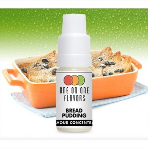 One on One OoO Bread Pudding Flavour Concentrate 10ml bottle