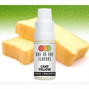 One on One OoO Cake Yellow Flavour Concentrate 10ml bottle
