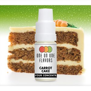One on One OoO Carrot Cake Flavour Concentrate 10ml bottle