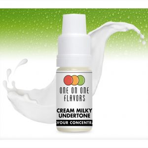 One on One OoO Cream Milky Undertone Flavour Concentrate 10ml bottle