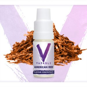 Vapable American Red Flavour Concentrate 10ml Bottle