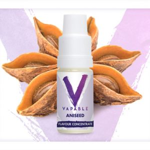 Vapable Aniseed Flavour Concentrate 10ml Bottle