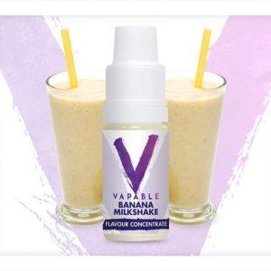 Vapable Banana Milkshake Flavour Concentrate 10ml Bottle