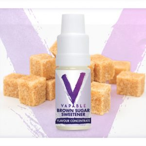 Vapable Brown Sugar Sweetener Flavour Concentrate 10ml Bottle