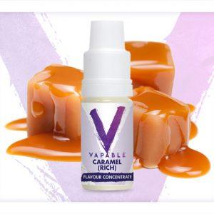 Vapable Caramel Rich Flavour Concentrate 10ml bottle