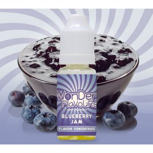 Wonder Flavours Blueberry Jam Flavour Concentrate 10ml bottle
