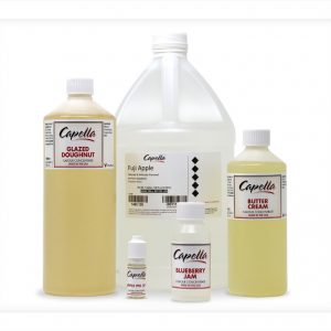 Capella Gallon Litre 500ml 100ml 10ml bottles