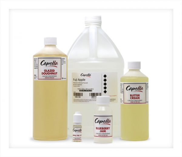 Capella Gallon Litre 500ml 100ml 10ml bottles