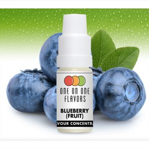 One on One OoO Blueberry Fruit Flavour Concentrate 10ml bottle