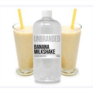 Unbranded Flavour Concentrate Banana Milkshake Bulk One shot bottle