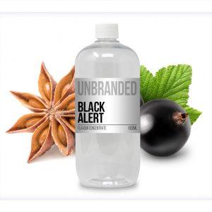 Unbranded Flavour Concentrate Black Alert Bulk One Shot bottle