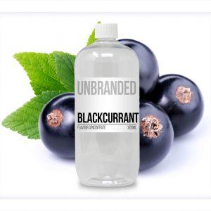 Unbranded Flavour Concentrate Blackcurrant Bulk One shot bottle