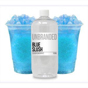 Unbranded Flavour Concentrate Blue Slush Bulk One shot bottle
