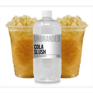 Unbranded Flavour Concentrate Cola Slush Bulk One Shot bottle