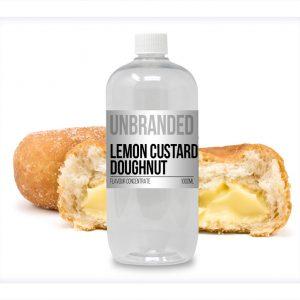 Unbranded Flavour Concentrate Lemon Custard Doughnut Bulk One Shot bottle