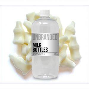 Unbranded Flavour Concentrate Milk Bottles Bulk One Shot bottle