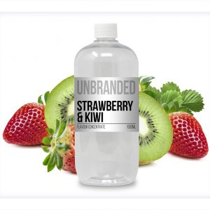 Unbranded Flavour Concentrate Strawberry and Kiwi Bulk One Shot bottle