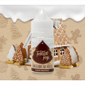 Festive Fog Gingerbread House One Shot Flavour Concentrate bottle