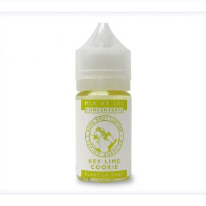Flavour Boss Boss Shot Key Lime Cookie One Shot Flavour Concentrate bottle