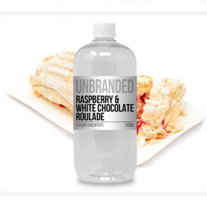 Unbranded Flavour Concentrate Raspberry and White Chocolate Roulade Bulk One Shot bottle
